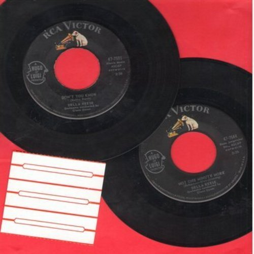 Reese, Della - 2 for 1 Special: Don't You Know/Not One Minute More (2 vintage first issue 45rpm records for the price of 1!) - EX8/ - 45 rpm Records