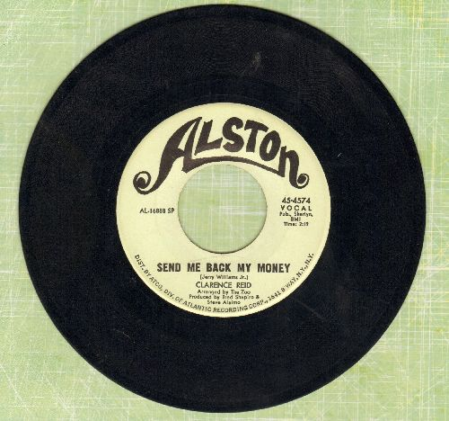 Reid, Clarence - Send Me Bak My Money/Nobody But You Babe - NM9/ - 45 rpm Records