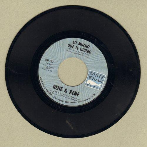 Rene & Rene - Lo Mucho Que Te Quiero/Mornin' - EX8/ - 45 rpm Records