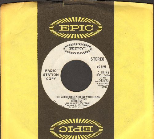 Redbone - The Witch Queen Of New Orleans (double-A-sided DJ advance pressing with Epic company sleeve) - NM9/ - 45 rpm Records