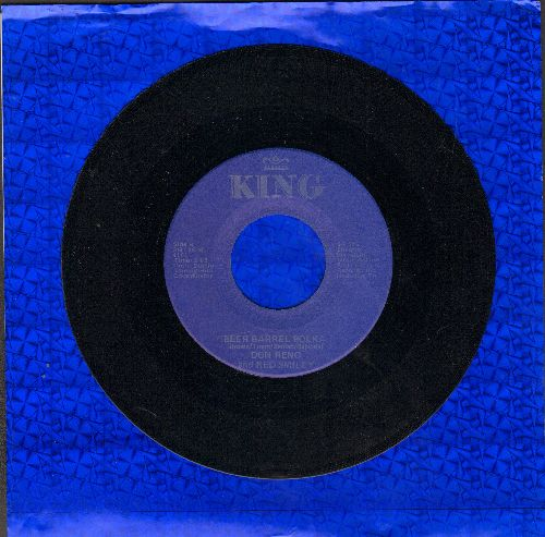 Reno, Don, Red Smiley  - Beer Barrel Polka/I Know You're Married (double-hit re-issue) - NM9/ - 45 rpm Records