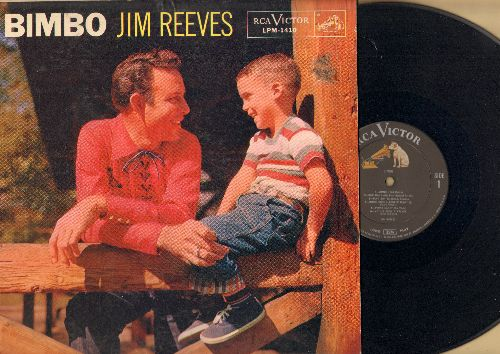 Reeves, Jim - Bimbo: How Many, Echo Bonita, Penny candy, Drinking Tequila, Mother Went A-Walkin' (vinyl MONO LP record) - EX8/VG7 - LP Records
