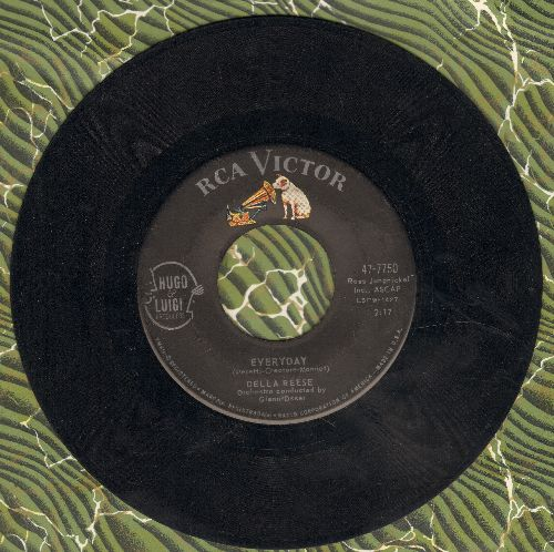 Reese, Della - Everyday/There's No Two Ways About It  - EX8/ - 45 rpm Records