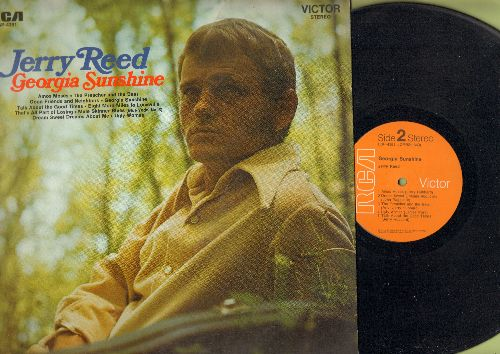 Reed, Jerry - Georgia Sunshine: The Preacher And The Bear, Eight More Miles To Louisville, Mule Skinner Blues, Ugly Woman (vinyl STEREO LP record) - VG7/EX8 - LP Records
