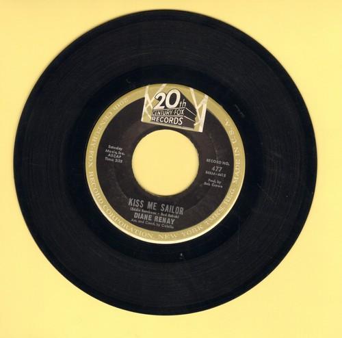 Renay, Diane - Kiss Me Sailor/Soft-Spoken Guy (wol) - VG6/ - 45 rpm Records