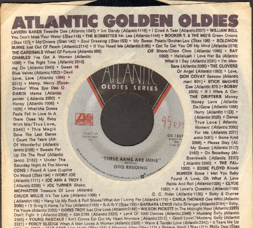 Redding, Otis - These Arms Of Mine/I've Been Loving You Too Long (double-hit re-issue with Atlantic company sleeve) - NM9/ - 45 rpm Records