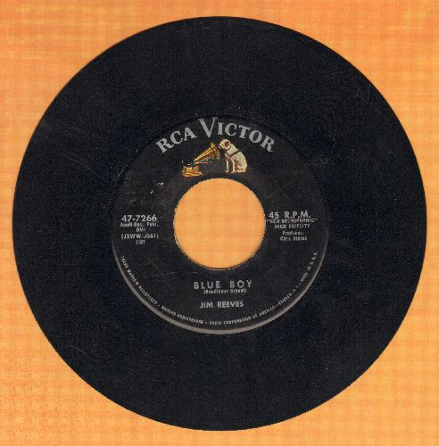 Reeves, Jim - Blue Boy/Theme Of Love (I Love To Say, -I Love You-) - EX8/ - 45 rpm Records