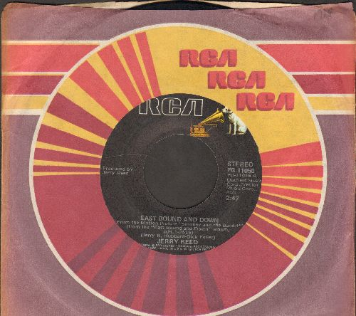 Reed, Jerry - (I'm Just A) Redneck In A Rock And Roll Bar/East Bound And Down (with RCA company sleeve) - VG7/ - 45 rpm Records