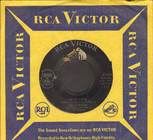 Reese, Della - Be My Love/I Behold You (with vintage RCA company sleeve) - NM9/ - 45 rpm Records