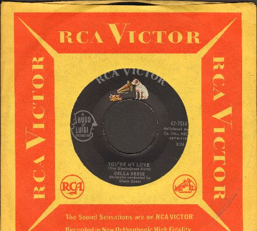 Reese, Della - Not One Minute More/You're My Love (with RCA company sleeve) - NM9/ - 45 rpm Records