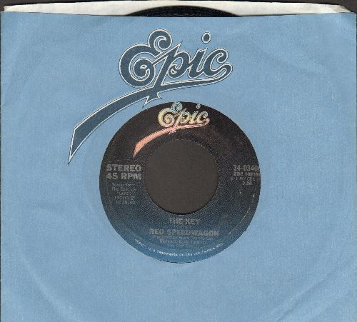 REO Speedwagon - The Key/Let's Be-Bop (with Epic company sleeve) - NM9/ - 45 rpm Records