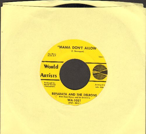 Reparata & The Delrons - Mama Don't Allow/Tommy - NM9/ - 45 rpm Records
