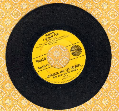 Reparata & The Delrons - Whenever A Teenager Cries/He's My Guy - EX8/ - 45 rpm Records