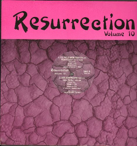 Modern English, After The Fire, Erasure, Front 242 - Resurrection Vol. 10 - 4 Extended Dance Club Tracks featuring hits I'll Melt With You (6:07)/Der Kommissar (5:03)/Victim Of Love (5:32)/Welcome To Paradise (6:31) (12 inch vinyl Maxi Single with company