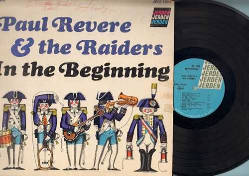 Revere, Paul & The Raiders - In The Beginning: Shake Rattle And Roll, Don't Be Cruel, Rinky Dink, Mojo Workout, Crisco (vinyl STEREO LP record, woc) - NM9/VG6 - LP Records