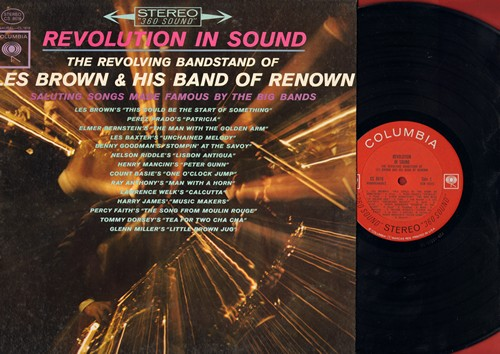Brown, Les & His Band Of Renown - Revolution In Sound: Patricia, Peter Gunn, Unchained Melody, Song From Moulin Rouge (vinyl STEREO LP record) - NM9/EX8 - LP Records
