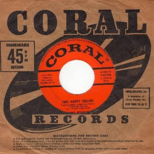 Reynolds, Debbie - This Happy Feeling/Hillside In Scotland (with vintage Coral company sleeve) (sol) - NM9/ - 45 rpm Records