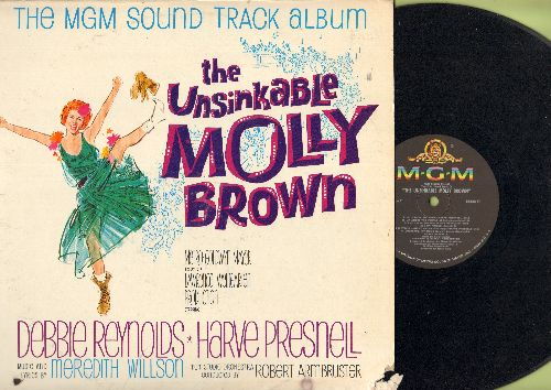 Reynolds, Debbie, Harve Presnell, others - The Unsinkable Molly Brown - Original Motion Picture Sound Track (vinyl MONO LP record) - EX8/VG6 - LP Records