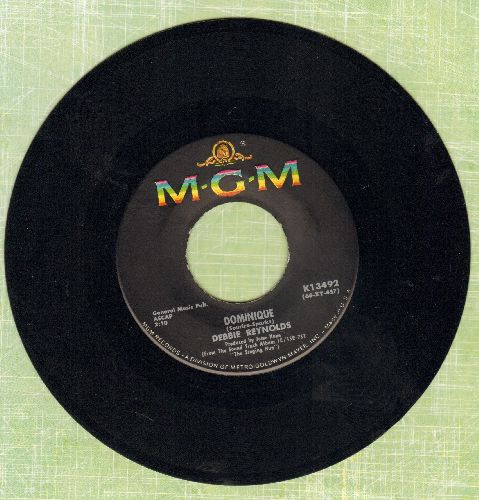 Reynolds, Debbie - Dominique/Brother John - NM9/ - 45 rpm Records