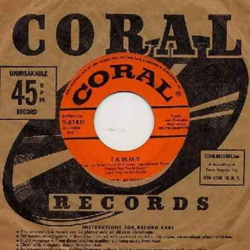 Reynolds, Debbie - Tammy/French Heels (with vintage Coral company sleeve) - EX8/ - 45 rpm Records