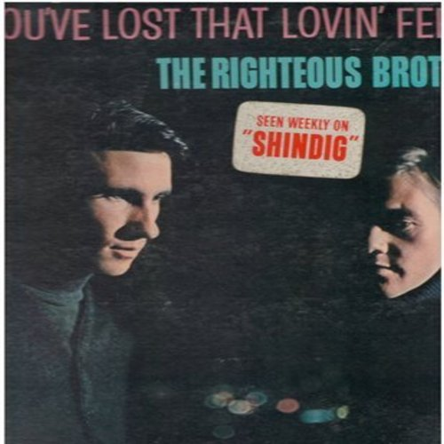 Righteous Brothers - You've Lost That Lovin' Feelin': Old Man River, The Angels Listened In, Summertime, What'd I Say, Ko Ko Mo (vinyl STEREO LP record) - NM9/EX8 - LP Records