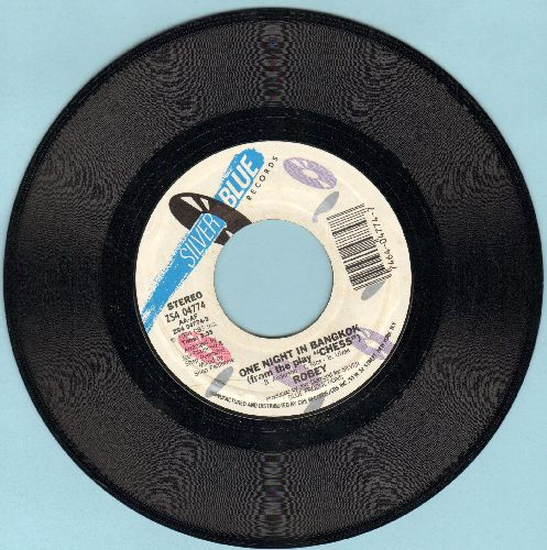 Robey - One Night In Bangkok (from the play -Chess-)/Bored And Beautiful - NM9/ - 45 rpm Records