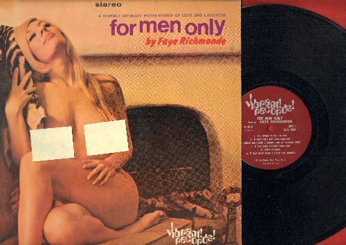 Richmonde, Faye - For Men Only: You Ought To See Her Box, Meat Man Pete, What's Your Price? (vinyl STEREO LP record, adult novelty-comedy!) - NM9/NM9 - LP Records