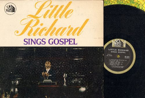 Little Richard - Little Richard Sings Gospel: Every Time I Feel The Spirit, Precious Lord, Coming Home (vinyl MONO LP record) - EX8/EX8 - LP Records