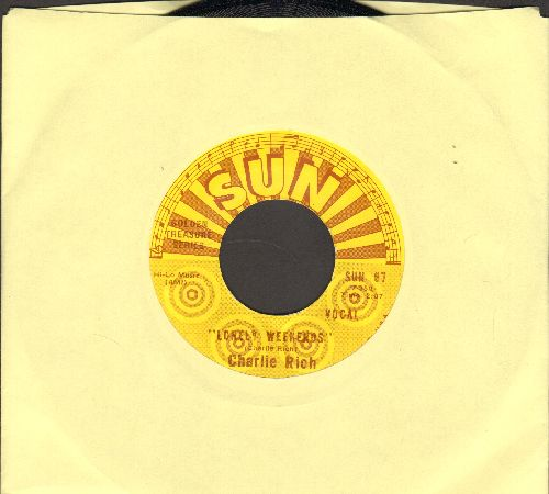 Rich, Charlie - Lonely Weekends/Everything I Do Is Wrong (authentic-looking re-issue) - NM9/ - 45 rpm Records