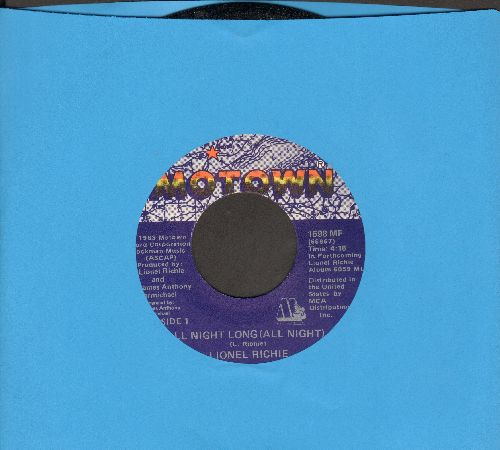 Richie, Lionel - All Night Long/Wandering Stranger - NM9/ - 45 rpm Records