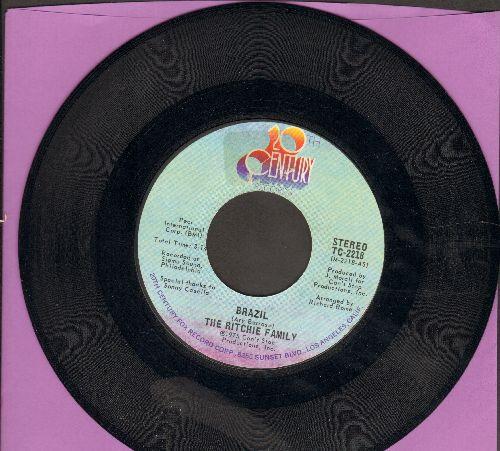 Ritchie Family - Brazil/Hot Trip  - NM9/ - 45 rpm Records
