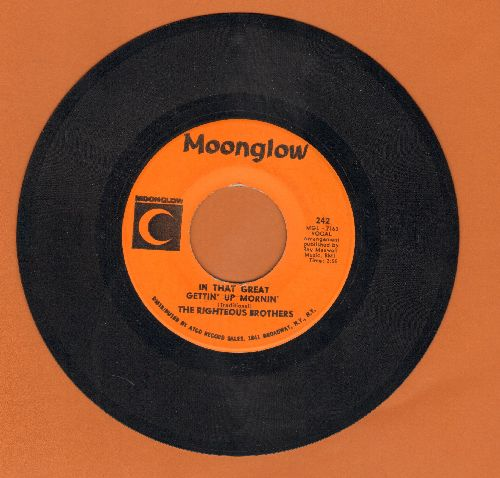 Righteous Brothers - In That Great Getting' Up Mornin'/Justine - EX8/ - 45 rpm Records