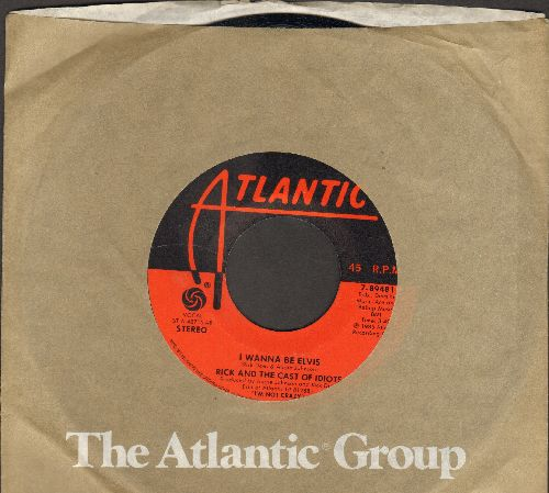 Ricky & Raylene - Light Of Day/It Must Be Love (minor wol) - EX8/ - 45 rpm Records