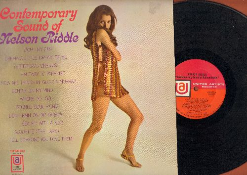 Riddle, Nelson - Contemporary Sound Of Nelson Riddle: Light My Fire, Sealed With A Kiss, Halfway To Paradise, Don't Rain On My Parade (vinyl STEREO LP record) - NM9/NM9 - LP Records