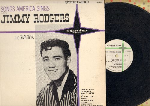 Rodgers, Jimmie - Songs America Sings: Joshua Fit The Battle, Waterboy, Beautiful Dreamer, O Susanna, Liza (vinyl STEREO LP record) - VG7/EX8 - LP Records