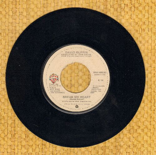Ruffin, David - Break My Heart/Sexy Dancer - NM9/ - 45 rpm Records