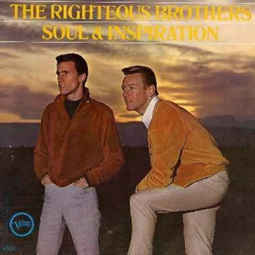 Righteous Brothers - Soul & Inspiration: He Will Break Your Heart, I'm Leaving It Up To You, In The Midnight Hour (vinyl LP record) - NM9/NM9 - LP Records