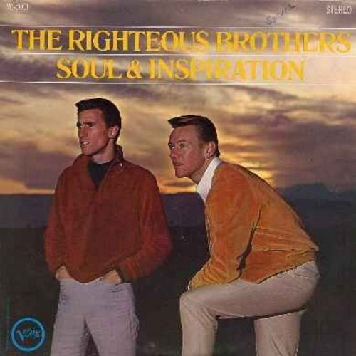 Righteous Brothers - Soul & Inspiration: He Will Break Your Heart, I'm Leaving It Up To You, In The Midnight Hour (vinyl STEREO LP record) - VG7/VG7 - LP Records