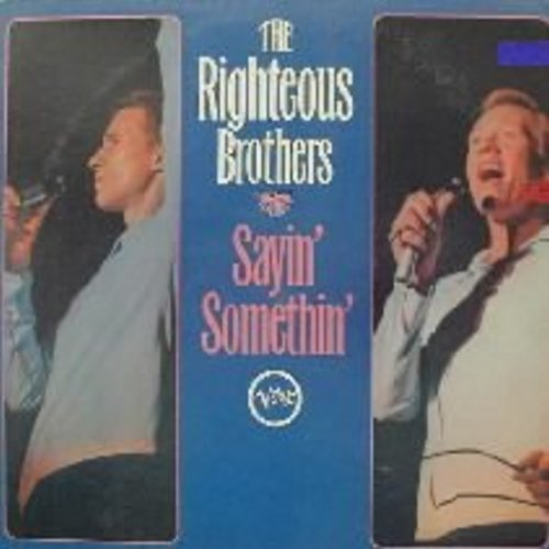 Righteous Brothers - Sayin' Somethin': Harlem Shuffle, I Who Have Nothing, Along Came Jones, My Girl (vinyl MONO LP record) - NM9/EX8 - LP Records