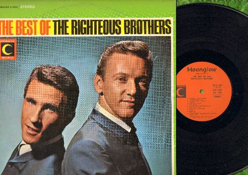 Righteous Brothers - The Best Of: Georgia On My Mind, For Your Love, My Prayer, Bye Bye Love, This Little Girl Of Mine (vinyl STEREO LP record) - M10/EX8 - LP Records