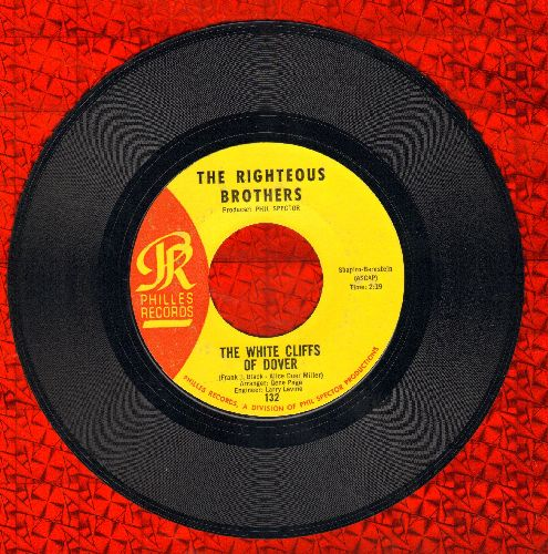 Righteous Brothers - The White Cliffs Of Dover/She's Mine, All Mine - EX8/ - 45 rpm Records