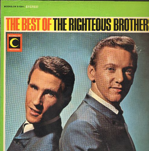 Righteous Brothers - The Best Of: Georgia On My Mind, For Your Love, My Prayer, Bye Bye Love, This Little Girl Of Mine (vinyl STEREO LP record) - EX8/EX8 - LP Records