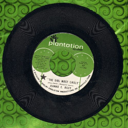 Riley, Jeannie C. - The Girl Most Likely/My Scrapbook (MINT condition!) - M10/ - 45 rpm Records