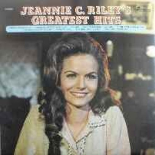Riley, Jeannie C. - Greatest Hits: Harper Valley P.T.A., Things Go Better With Love, The Rib, My Man, The Back Side Of Dallas, The Girl Most Likely (vinyl LP record) - EX8/VG7 - LP Records