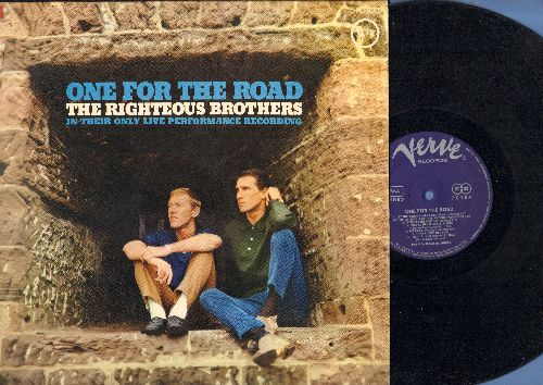 Righteous Brothers - One For The Road: Unchained Melody, You're My Soul And Inspiration, Ooh Poo Pah Doo, You'll Never Walk Alone (vinyl STEREO LP record, German Pressing) - EX8/EX8 - LP Records