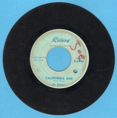 Rivieras - California Sun/H B Goose Step (bb, wol) - VG7/ - 45 rpm Records