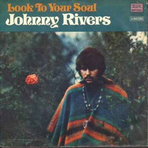 Rivers, Johnny - Look To Your Soul/Something Strange (with picture sleeve) - NM9/EX8 - 45 rpm Records