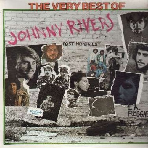 Rivers, Johnny - The Very Best Of: Poor Side Of Town, Baby I Need Your Loving, Blue Suede Shoes, Secret Agent Man, Rockin' Pneumonia, Memphis, Seventh Son (vinyl LP record, 1975 issue of vintage recordings) - NM9/NM9 - LP Records