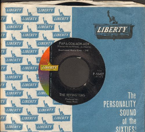 Rivingtons - Papa-Oom-Mow-Mom/Deep Water (with Liberty company sleeve) - NM9/ - 45 rpm Records
