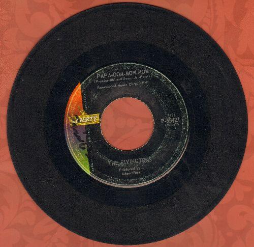 Rivingtons - Papa-Oom-Mow-Mom/Deep Water (wol) - VG7/ - 45 rpm Records